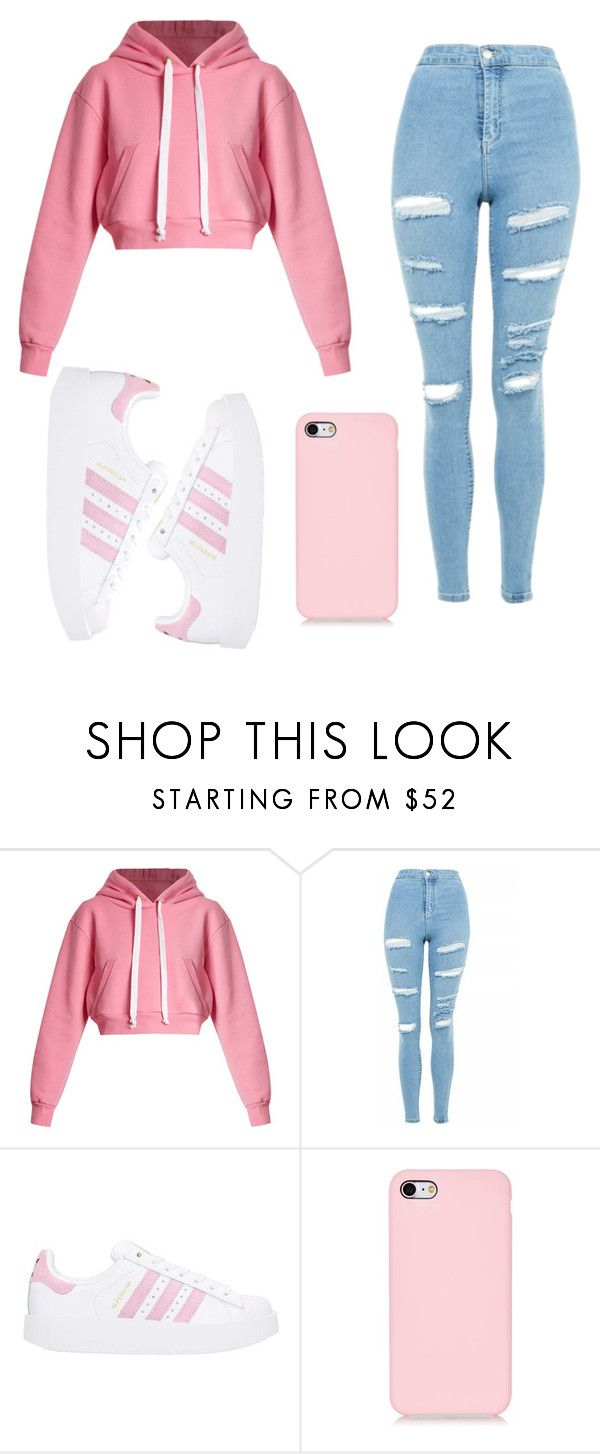 """""""Untitled #73"""" by ejeffrey3 on Polyvore featuring Natasha Zinko, Topshop and adidas"""