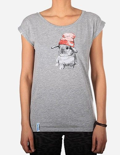 iriedaily - It Hasi Tee grey-mel.