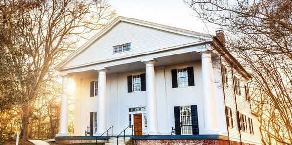 ATLANTA The elegant Bulloch Hall was built in Roswell, Georgia in 1839 by the slaves of Major James Stephens Bulloch, one of Roswell's first settlers and grandson of Governor Archibald Bulloch, and his...