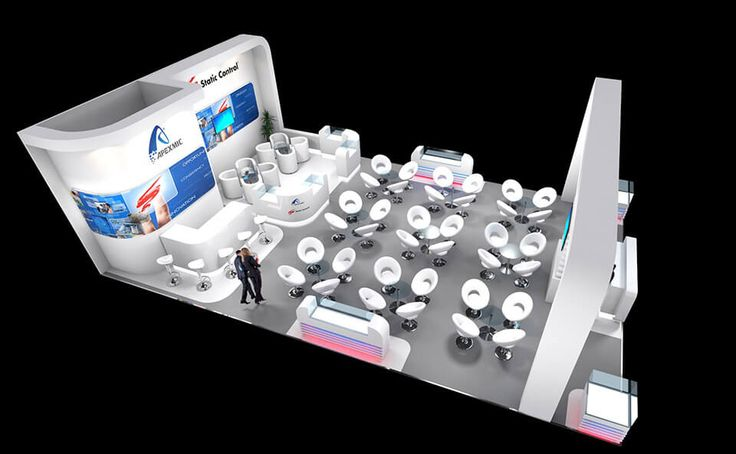Exhibition stand design for Static Control