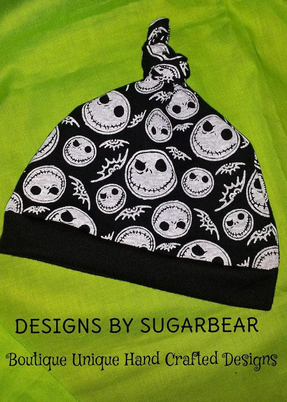 Hey, I found this really awesome Etsy listing at https://www.etsy.com/listing/201114198/jack-skellington-baby-beanie-hat-ready