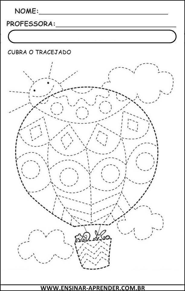 ATIVIDADES PARA DESENVOLVER COORDENAÇÃO MOTORA | Cantinho do Educador Infantil