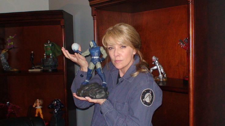 Amanda Tapping behind the scenes #SG1