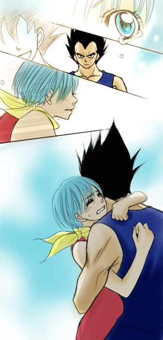 17 best images about vegeta and bulma on pinterest a - Goku e bulma a letto ...