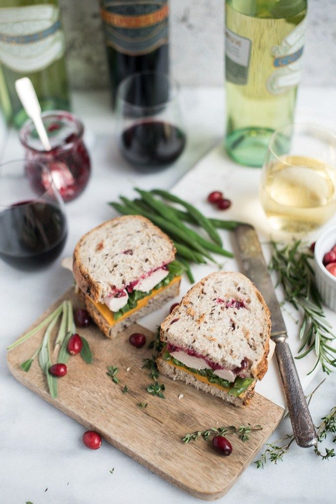 leftover turkey sandwich with cranberry aioli | superman cooks