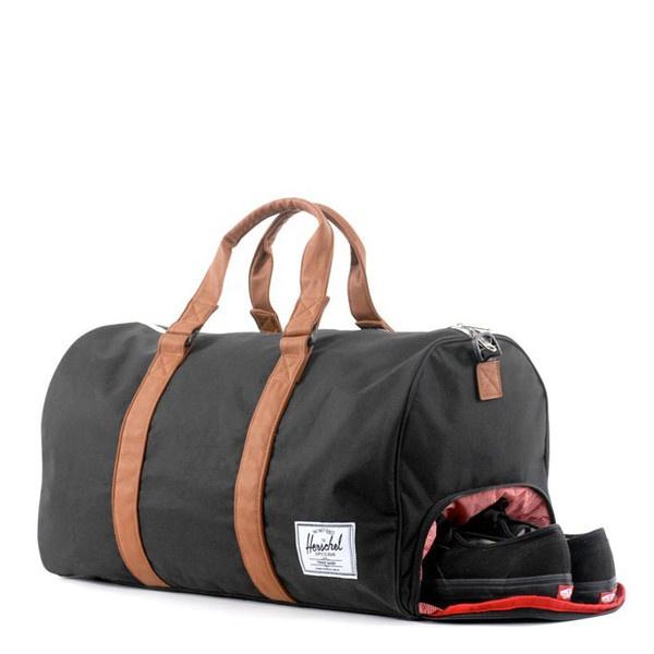 The Herschel Supply Novel Duffel Bag Has A Built In Shoe Compartment
