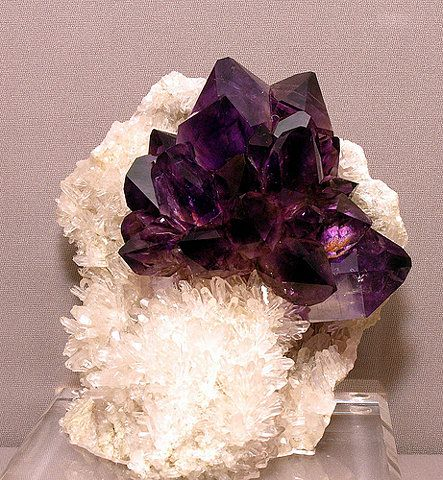 Amethyst~Using an Amethyst as a meditation focus will increase the positive spiritual feelings.