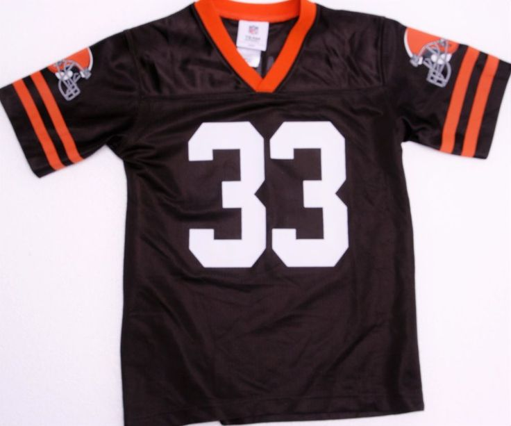 Youth NFL Brown Richardson #33 sz Small Jersey(4-6yrs old)
