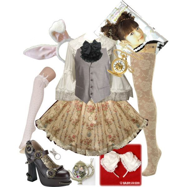 25+ Best Ideas About White Rabbit Costumes On Pinterest