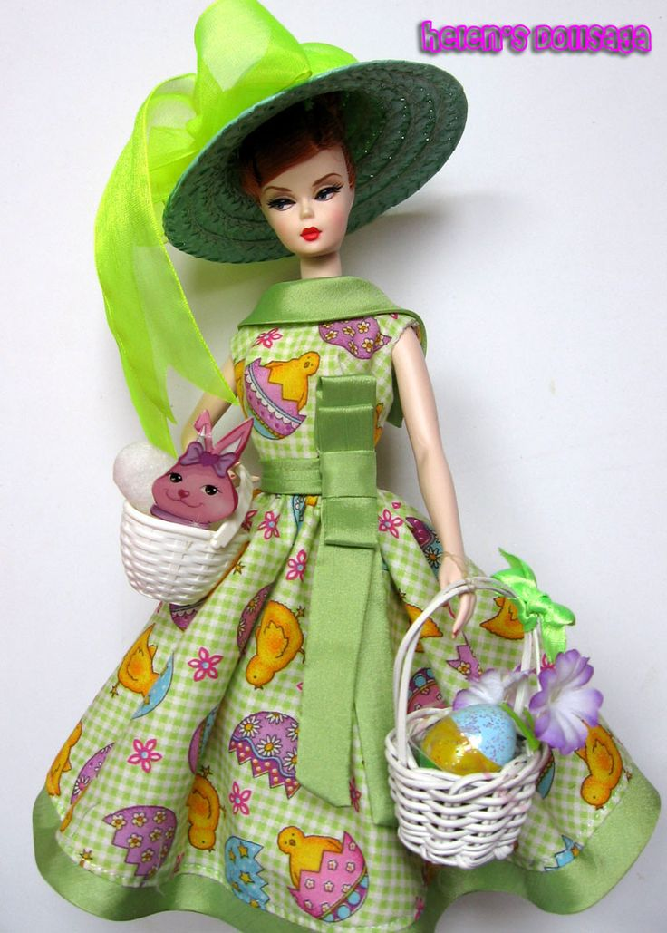 17 Best Images About A Barbie Fashion Thread Easter On