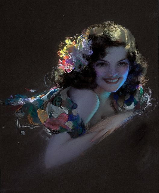 Rolf Armstrong  Follow Rolf Armstrong's beautiful art here: http://pinterest.com/davidhowton/the-art-of-rolf-armstrong/