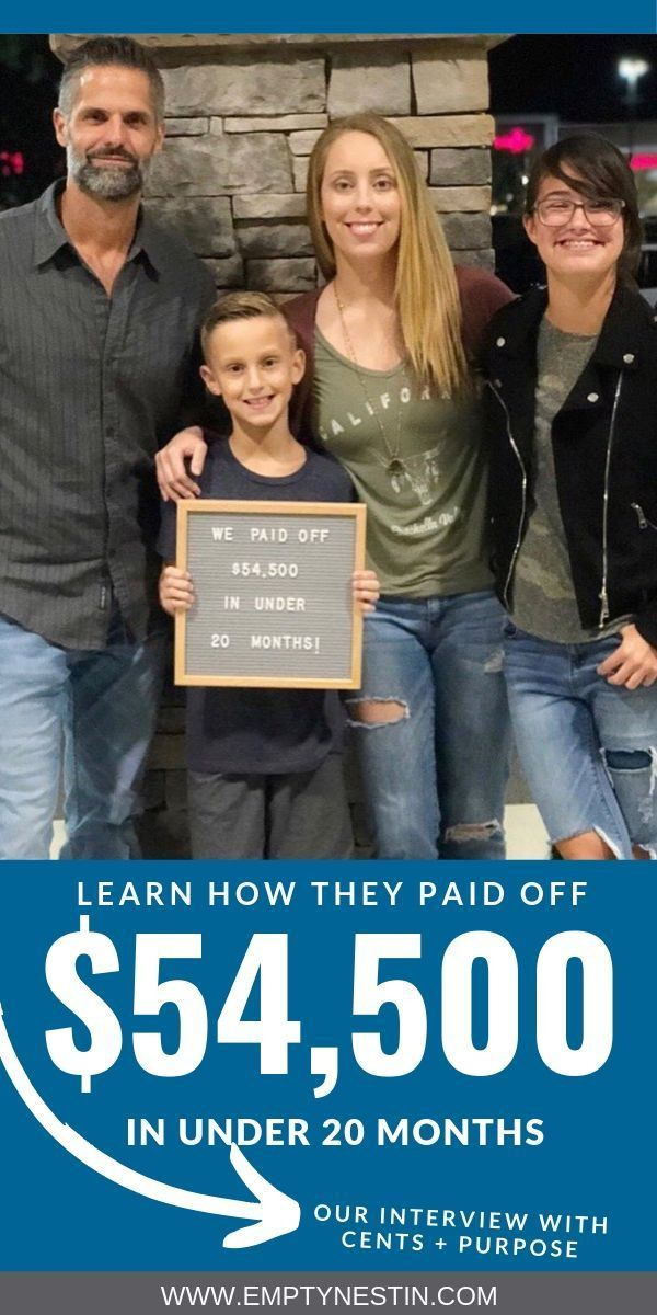 Kristin at Cents + Purpose Paid Off $54,500 of Debt Fast
