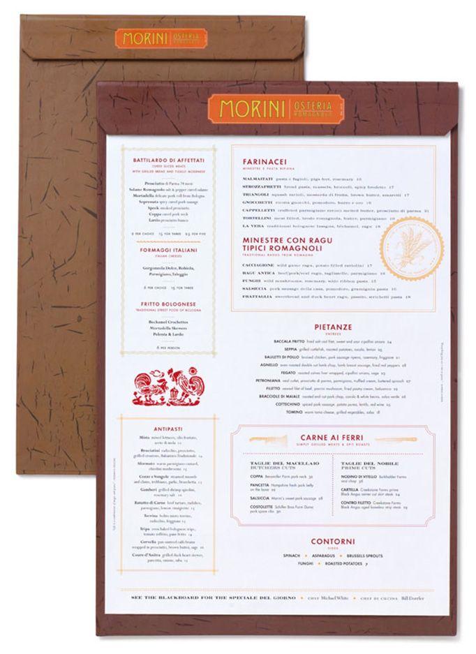 34 best Menu Design images on Pinterest Menu layout, Restaurant - italian menu