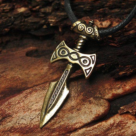 Bronze Amulet of Talos Skyrim Video Game 3D Pendant by MAGICrebEL, $36.99