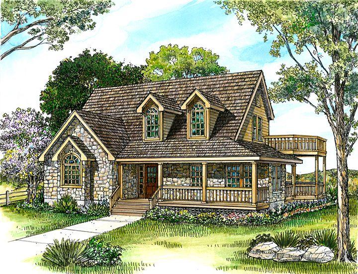 Eldorado Hill Country Plans Stone Cottage Homes Farmhouse Style House Plans Country Style House Plans