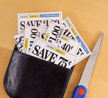 Clip coupons the Dave Ramsey way! lists coupon websites in the comments