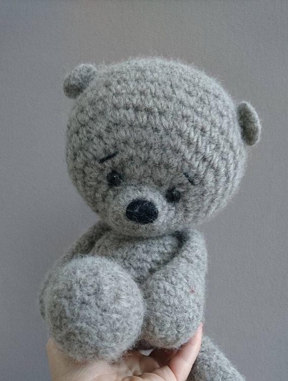 Pdf Deutsch Häkel Anleitung Teddy Teddybär Bär Amigurumi Micha