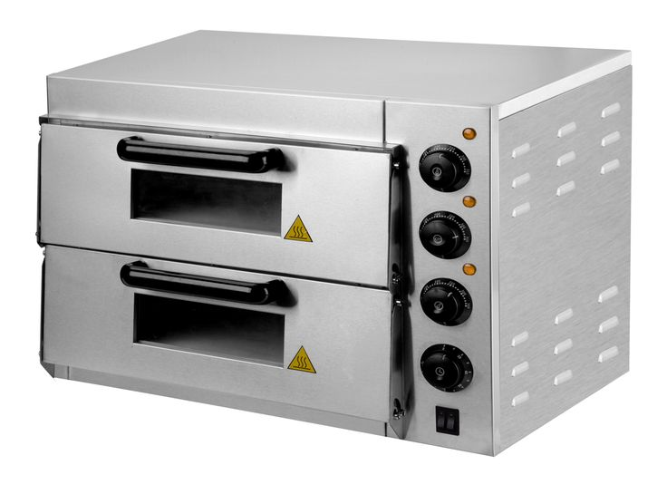 DOUBLE ELECTRIC PIZZA OVEN(SKEPL-EPO-DD-DT-S) MATERIAL : IRON WITH SPRAY PAINTING POWER 3000w  DiMENSION: 56  X 57  X 44 CM. VOLTAGE : V-220-240/50 Hz