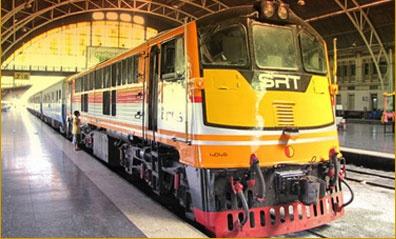 Thailand Railway Online Booking - การรถไฟแห่งประเทศไทย - State Railway of Thailand