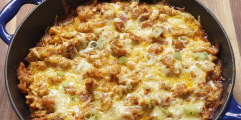 Best BBQ Chicken Cornbread Skillet Recipe - How To Make BBQ Chicken Cornbread Skillet
