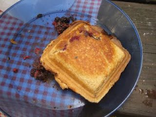 Pie Iron Recipes..love these..we made these as kids when camping and called them HoBo Pies.
