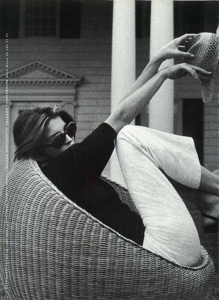 "midnight-charm: ""Stephanie Seymour photographed by Jacques Lowe for Gerard Darel, 1998 """