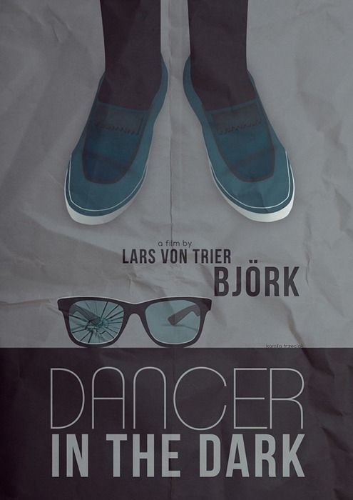 Alternative Dancer In The Dark movie poster.  #bjork #VonTrier #Dancerinthedark