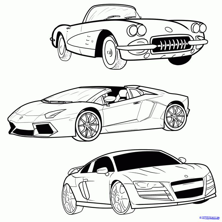 When drawing a sports car, it's important to understand ...