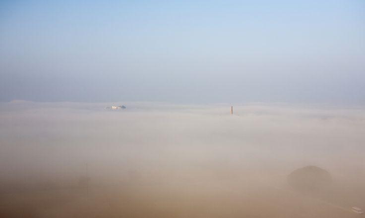 https://flic.kr/p/C4L4cP | clouds fog haze mist murk sky smog trees vegetation