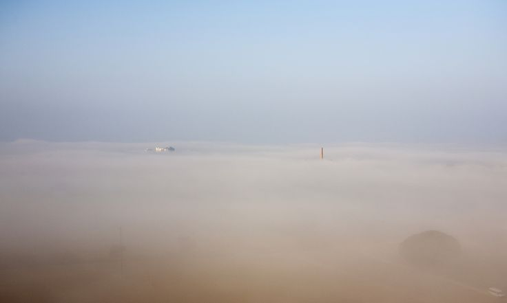 https://flic.kr/p/C4L4cP   clouds fog haze mist murk sky smog trees vegetation