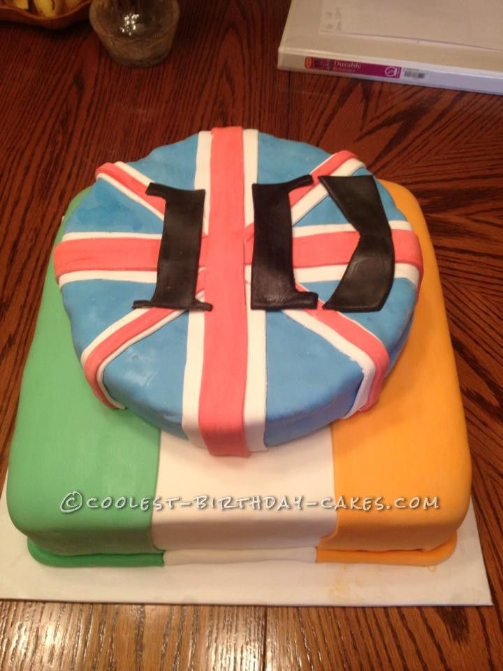 Coolest One Direction Cake... This website is the Pinterest of birthday cake ideas