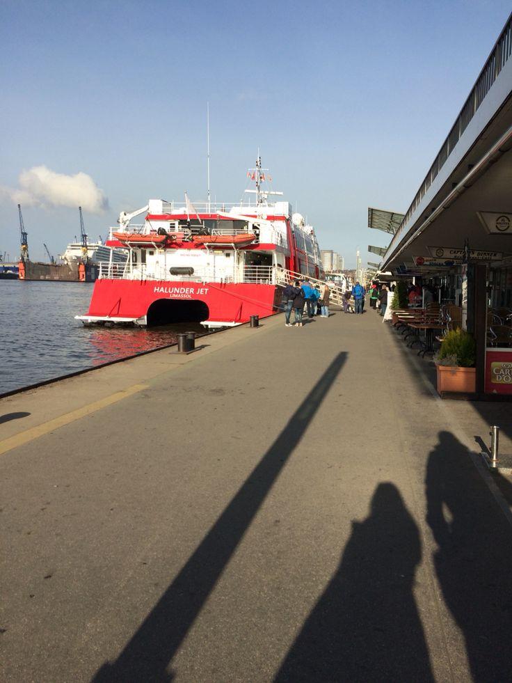 Hamburg Fähre Helgoland