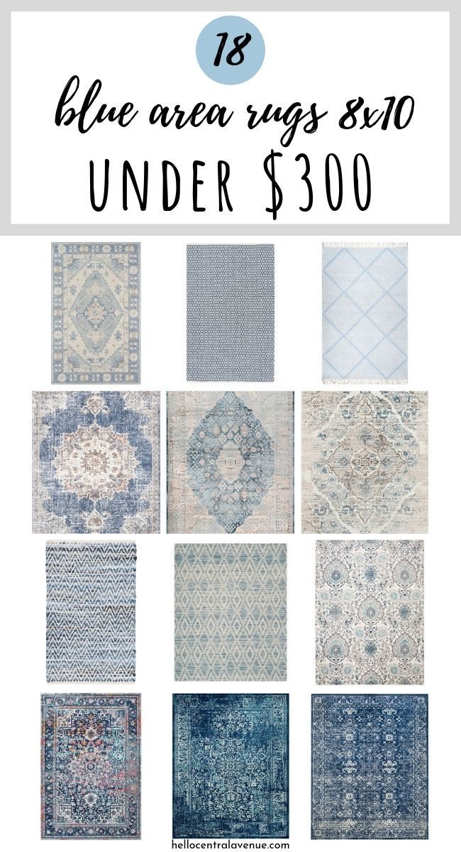 Blue Area Rugs 8x10 For Under 300 Hello Central Avenue In 2020 8x10 Area Rugs Blue Area Rugs Area Rugs