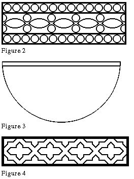 12th century design motif, graphed out for ease of use.