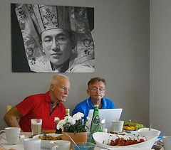 The Pure View Project Day at Bartołty Retreat Center in Poland: Lama Ole Nydahl and Tomek Lehnert are working together on correspondence http://pureview.dk/project-day-bartolty-retreat-center-poland-lama-ole-nydahl-tomek-lehnert-working-correspondence/ Lama On Tour posted a photo:  Project Day at  Bartoty Retreat Center in Poland. Lama Ole Nydahl and Tomek Lehnert are working together on correspondence. www.bartolty.buddyzm.pl/buddyzm.html