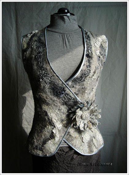 "Vests handmade. Fair Masters - handmade vest ""Raquel."" Handmade."