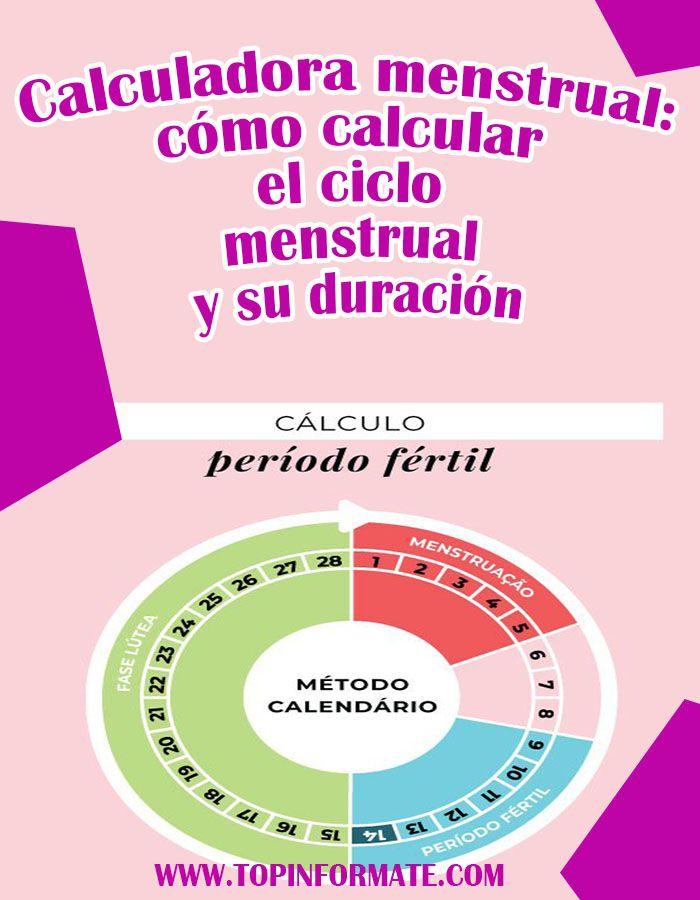 calculadora ovulacion y ciclo menstrual