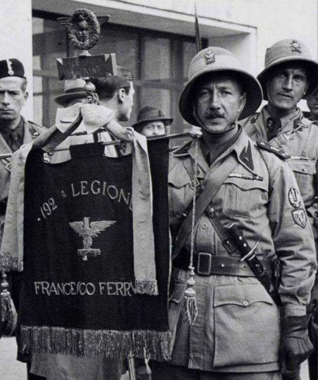 "scandinavicae: ""Blackshirts from the 192 ^ Legion 'Francesco Ferrucci'. """
