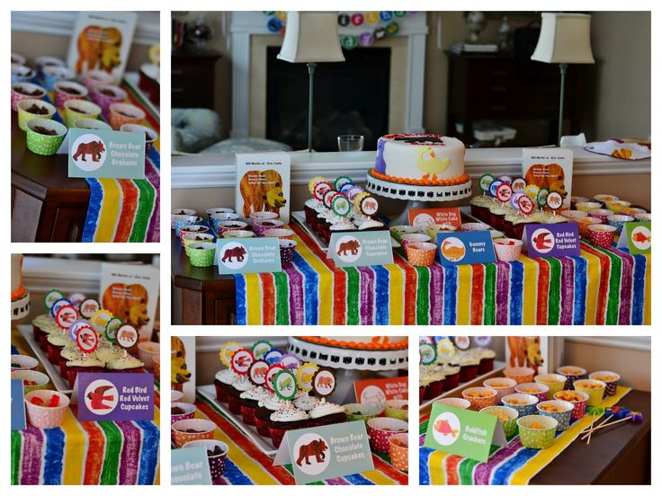 Brown Bear themed birthday party