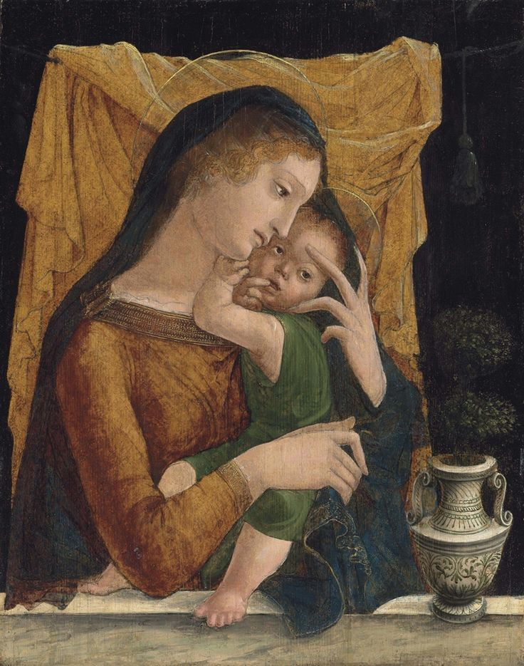 Liberale da Verona (c.1445-1527/9):  Madonna and Child  (oil on panel, 89x69.8 cm)