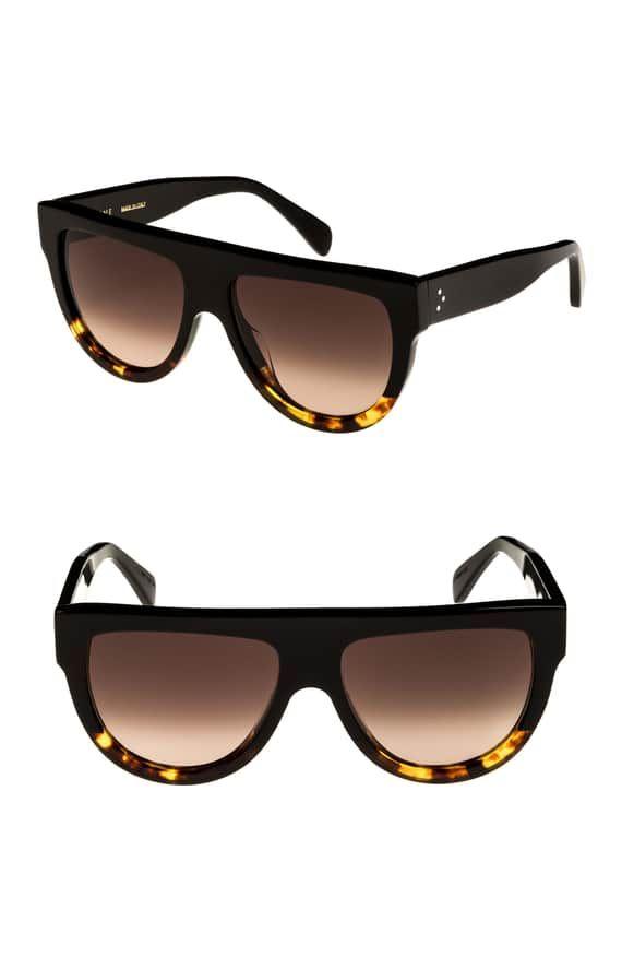 6ce922d96a980 Flat Top Sunglasses CÉLINE