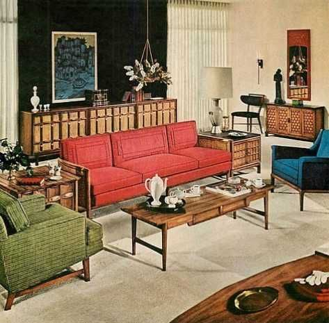 best 25 1940s living room ideas on pinterest. Black Bedroom Furniture Sets. Home Design Ideas