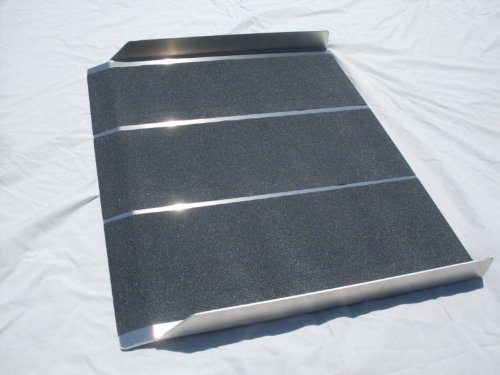 new aluminum solid wheelchair ramp 3ft x 30u2033 portable read more at http