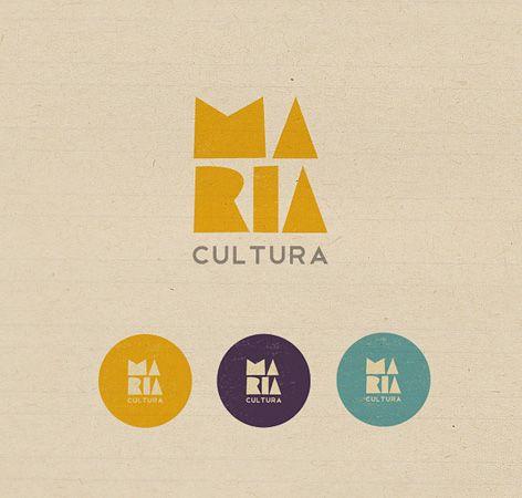 Maria Cultura Logo.Logos Post, Fonts Logo, Identity Logo Brand, João Lauro, Cultura Logo, Joao Lauro, Lauro Fonts, Id Logo