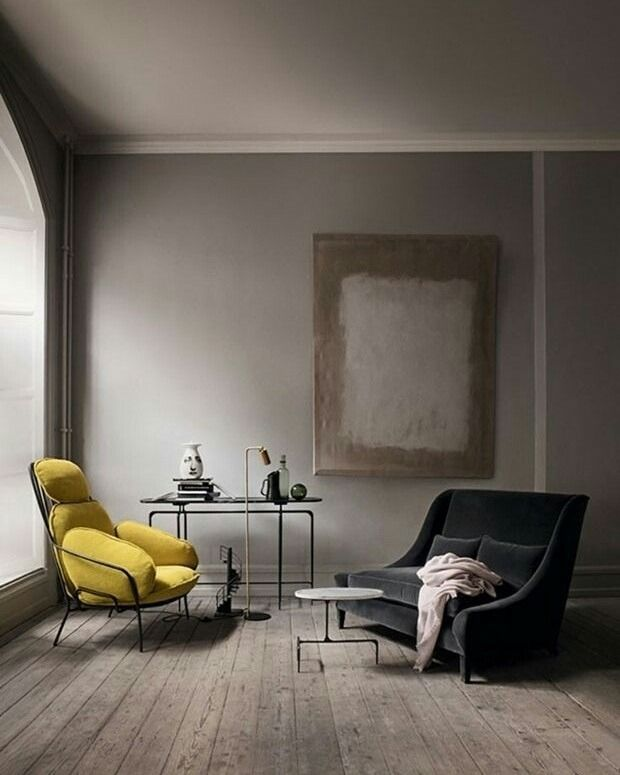 Grey interior is always so calming-interior, design