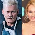 """JK Rowling blocked a fan on Twitter after she asked her why Johnny Depp would still be in 'Fantastic Beasts'     Johnny Depp as Gellert Grindelwald and J.K. Rowling. Warner Bros.; Chris Jackson/Getty Images    A fan asked J.K. Rowling why Johnny Depp is ...  Johnny Depp as Gellert Grindelwald and J.K. Rowling. Warner Bros.; Chris Jackson/Getty Images A fan asked J.K. Rowling why Johnny Depp is remaining in the """"Fantastic Beasts"""" series after he allegedly beat his ex-wife.Another actor was…"""