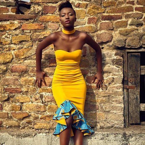 Short Ankara Designs That Will Make You An Event Queen