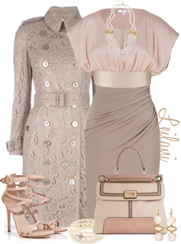 """Sophisticated Dress"" by leilani-almazan ❤ liked on Polyvore...pre wedding"