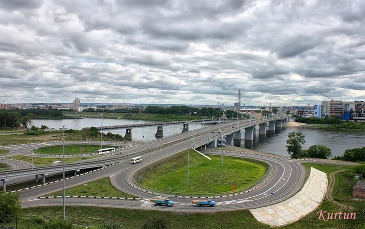 kurtun — Кузнецкий мост через р. Томь -  «Новый старый мост» на Яндекс.Фотках