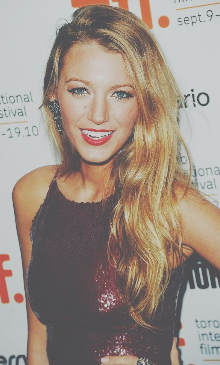 blake lively. my woman crush since Gossip Girl.